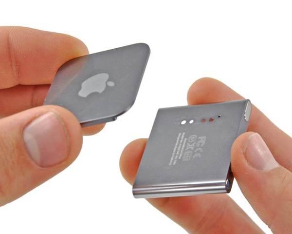 Как заменить батарею на ipod nano