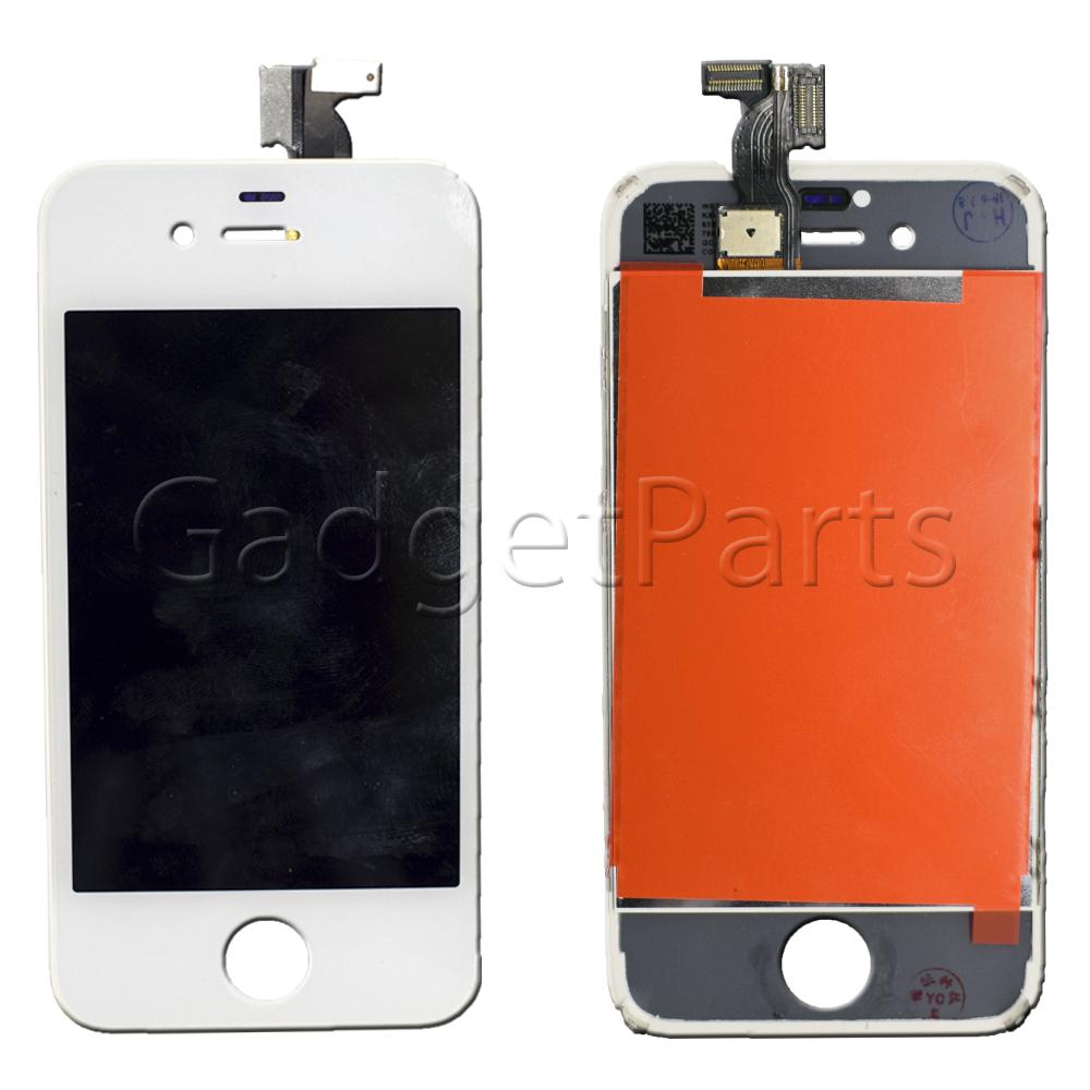 Модуль (дисплей, тачскрин, рамка) iPhone 4S Белый (White)