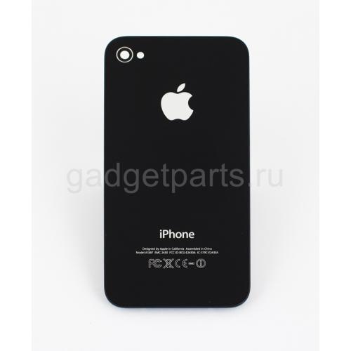Задняя крышка iPhone 4S Черная (Black)