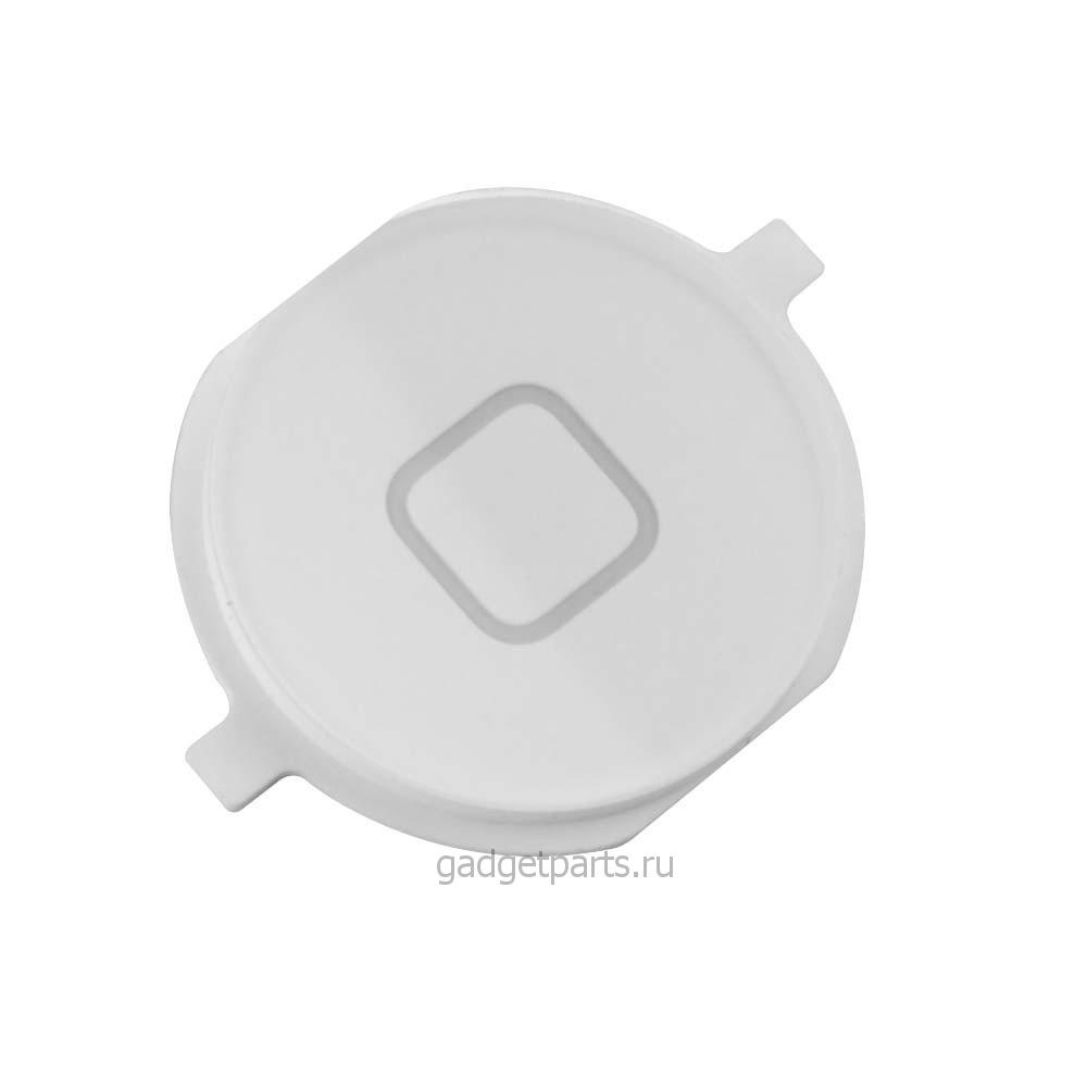 Кнопка Home iPhone 4 Белая (White)