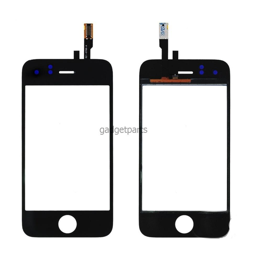 Сенсорное стекло, тачскрин iPhone 3GS Черный (Black)
