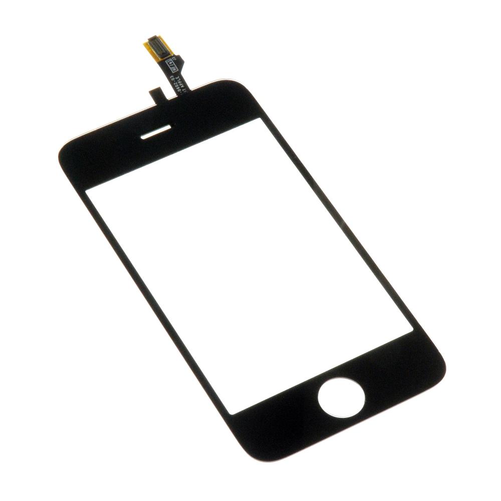 Сенсорное стекло, тачскрин iPhone 3G Черный (Black)