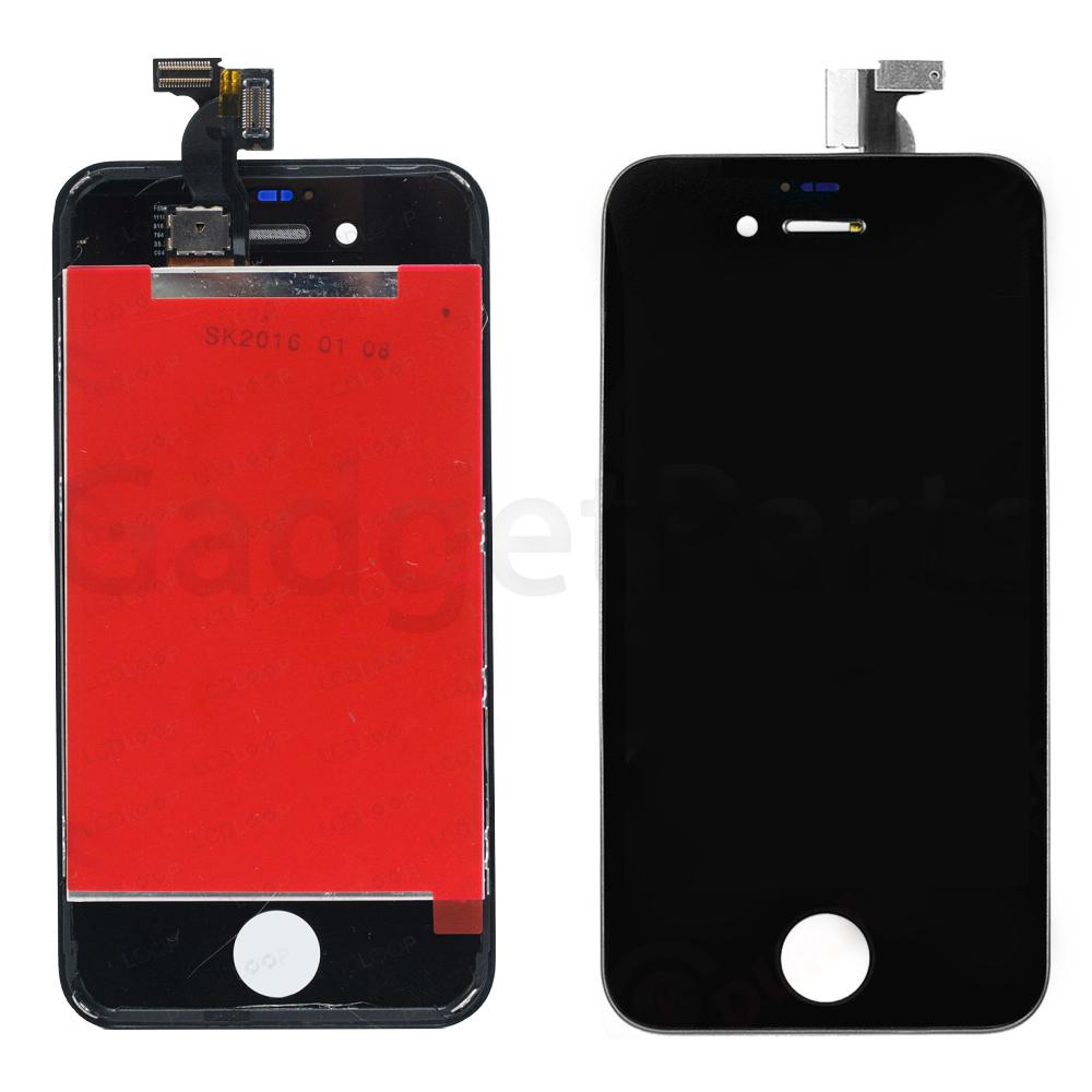 Модуль (дисплей, тачскрин, рамка) iPhone 4S Черный (Black) Оригинальная матрица