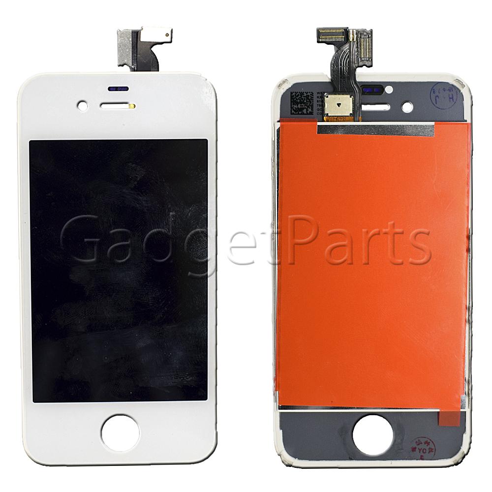 Модуль (дисплей, тачскрин, рамка) iPhone 4S Белый (White) Оригинальная матрица