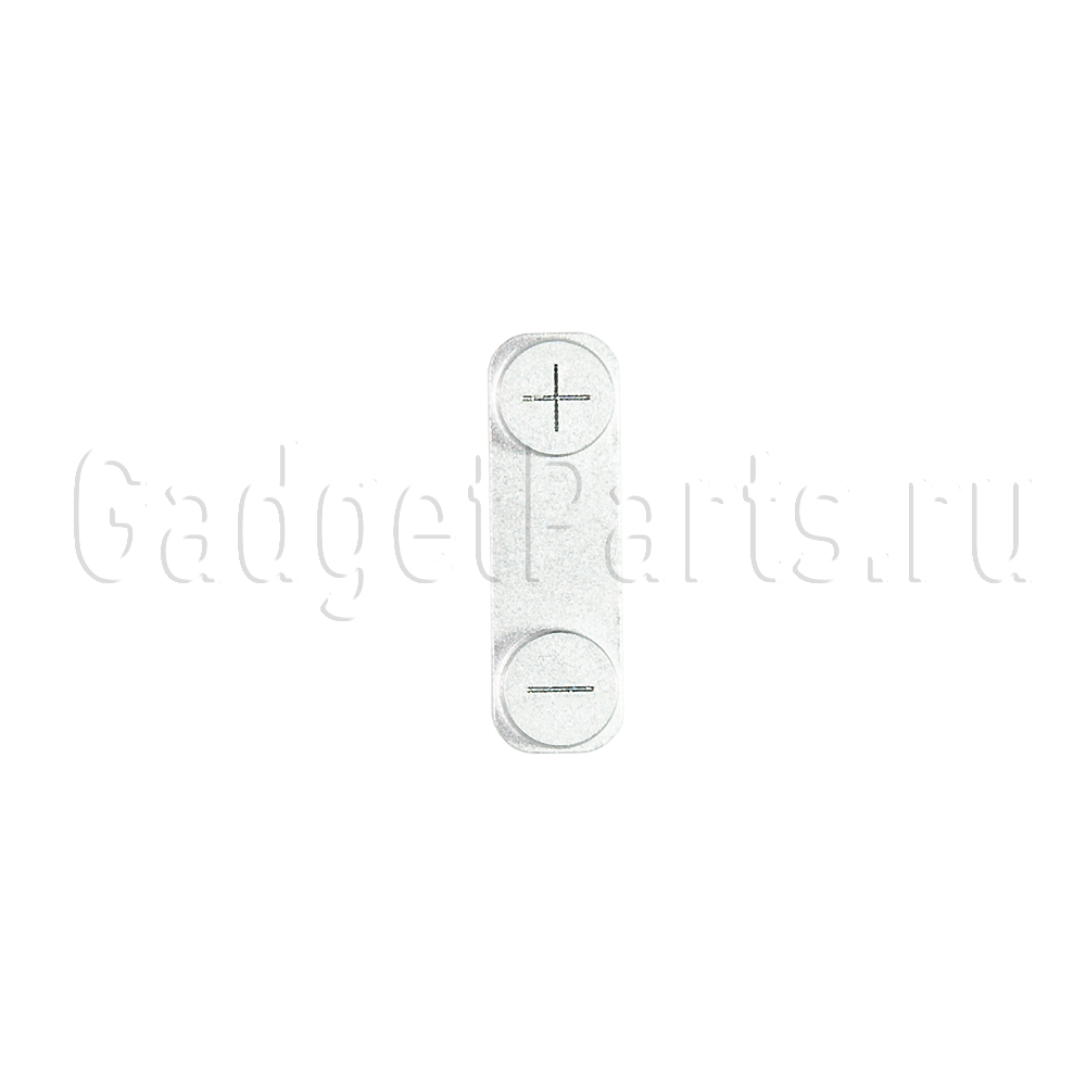 Кнопка громкости (Volume) iPhone 5 Белая (White)