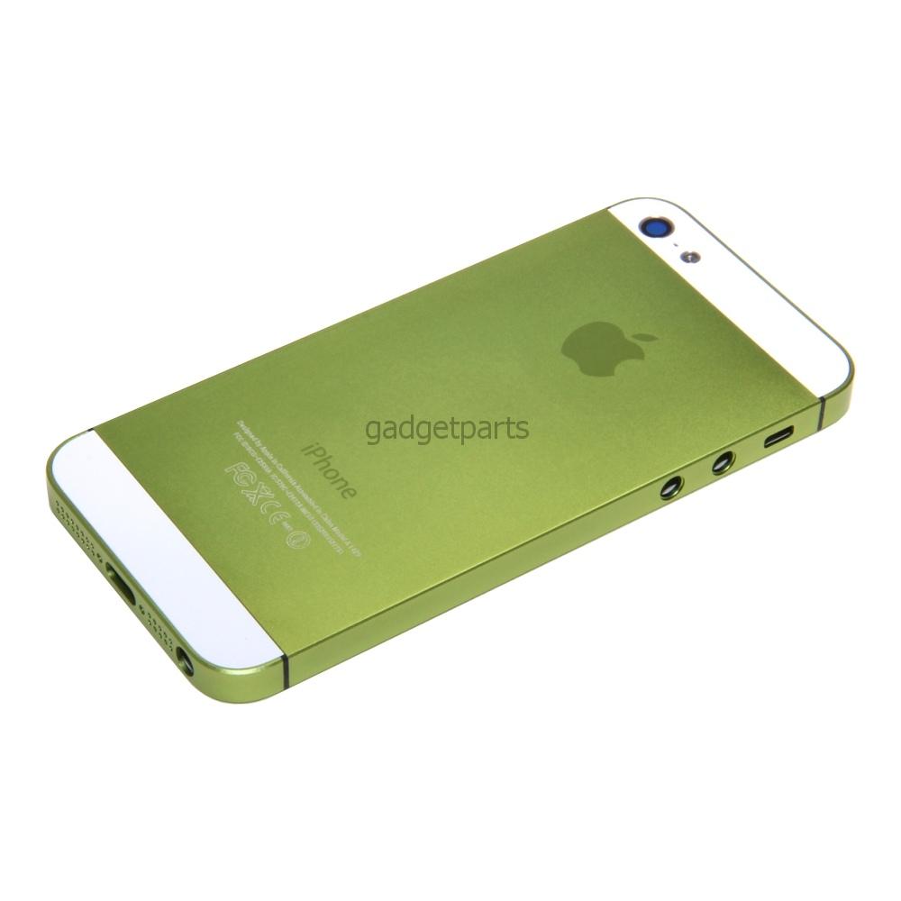 Задняя крышка iPhone 5 Зеленая (Green)