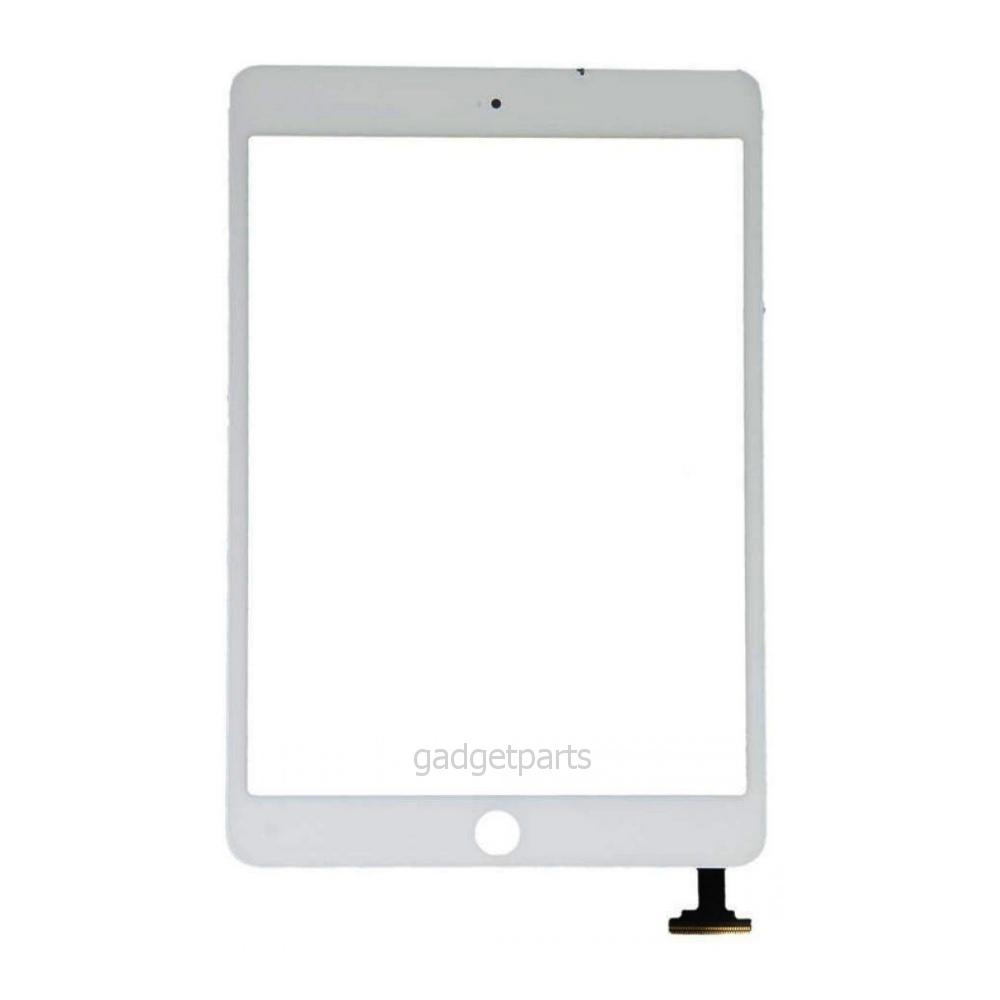 Сенсорное стекло, тачскрин iPad mini, mini 2 Retina Белый (White)