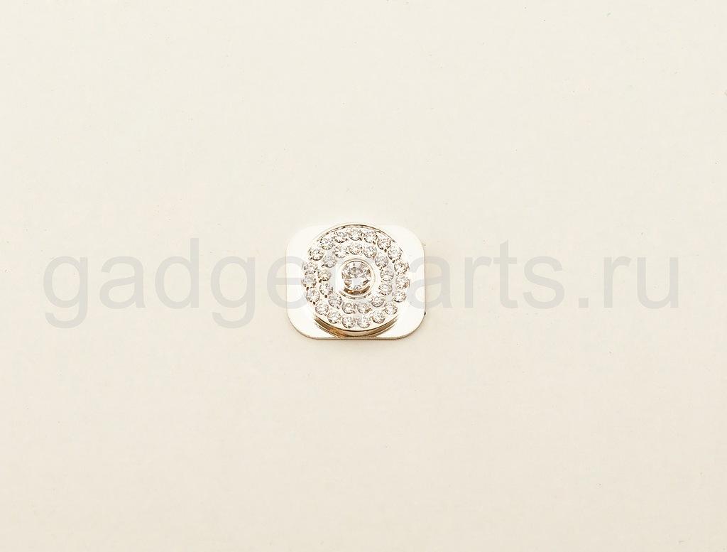 Кнопка Home iPhone 5 Серебряная (Silver)
