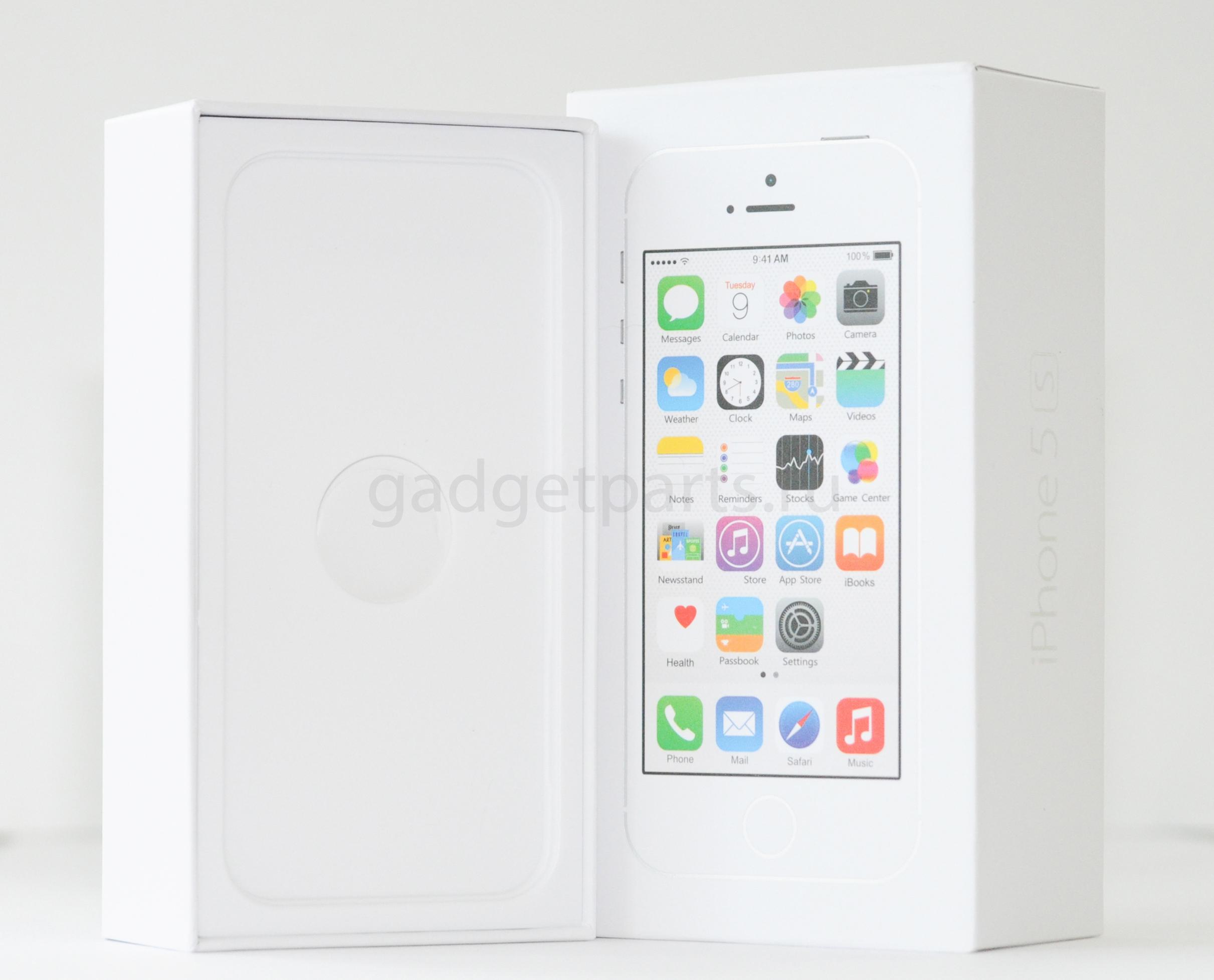 Коробка iPhone 5S Белая (White)