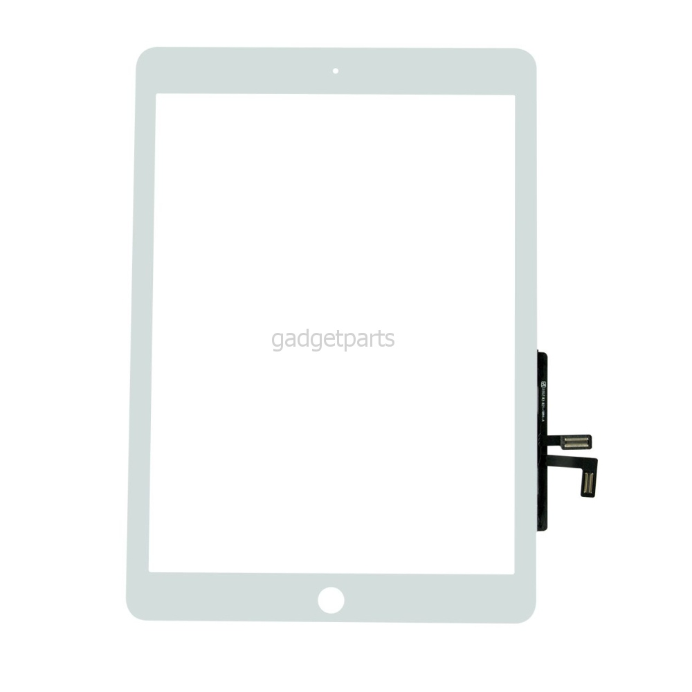 Сенсорное стекло, тачскрин iPad Air, iPad (5-го поколения) 2017 года Белый (White)