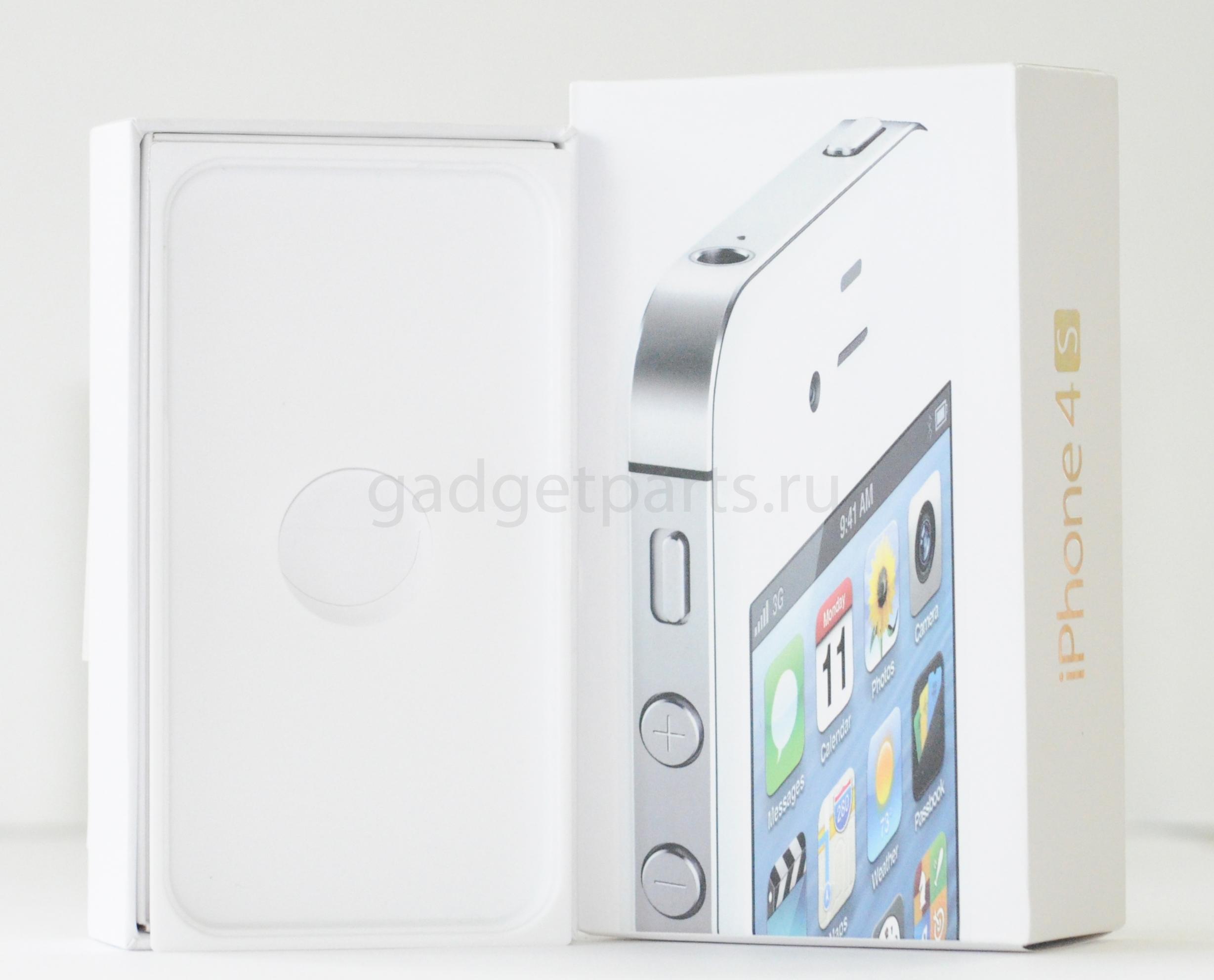 Коробка iPhone 4S Белая (White)