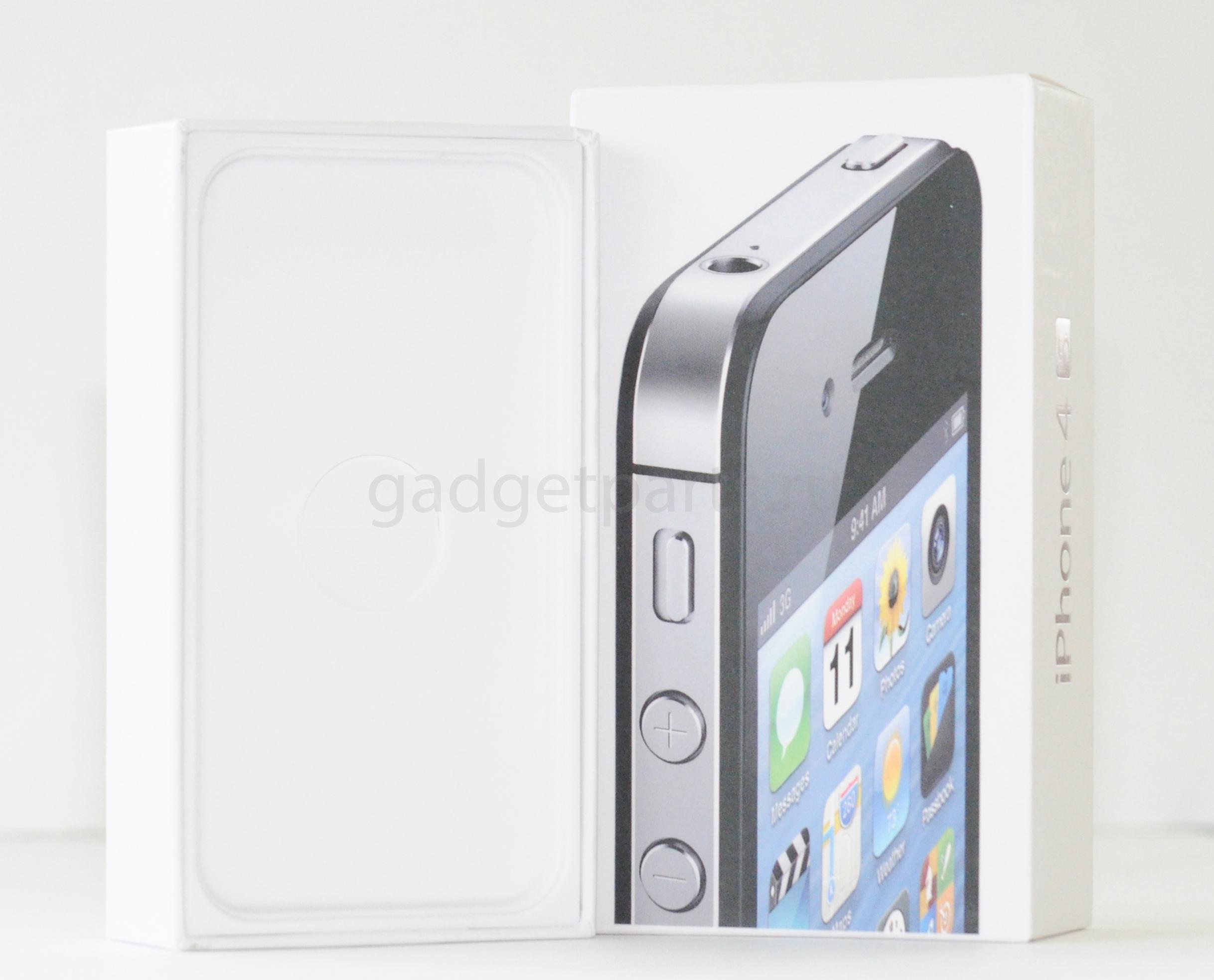 Коробка iPhone 4S Черная (Black)