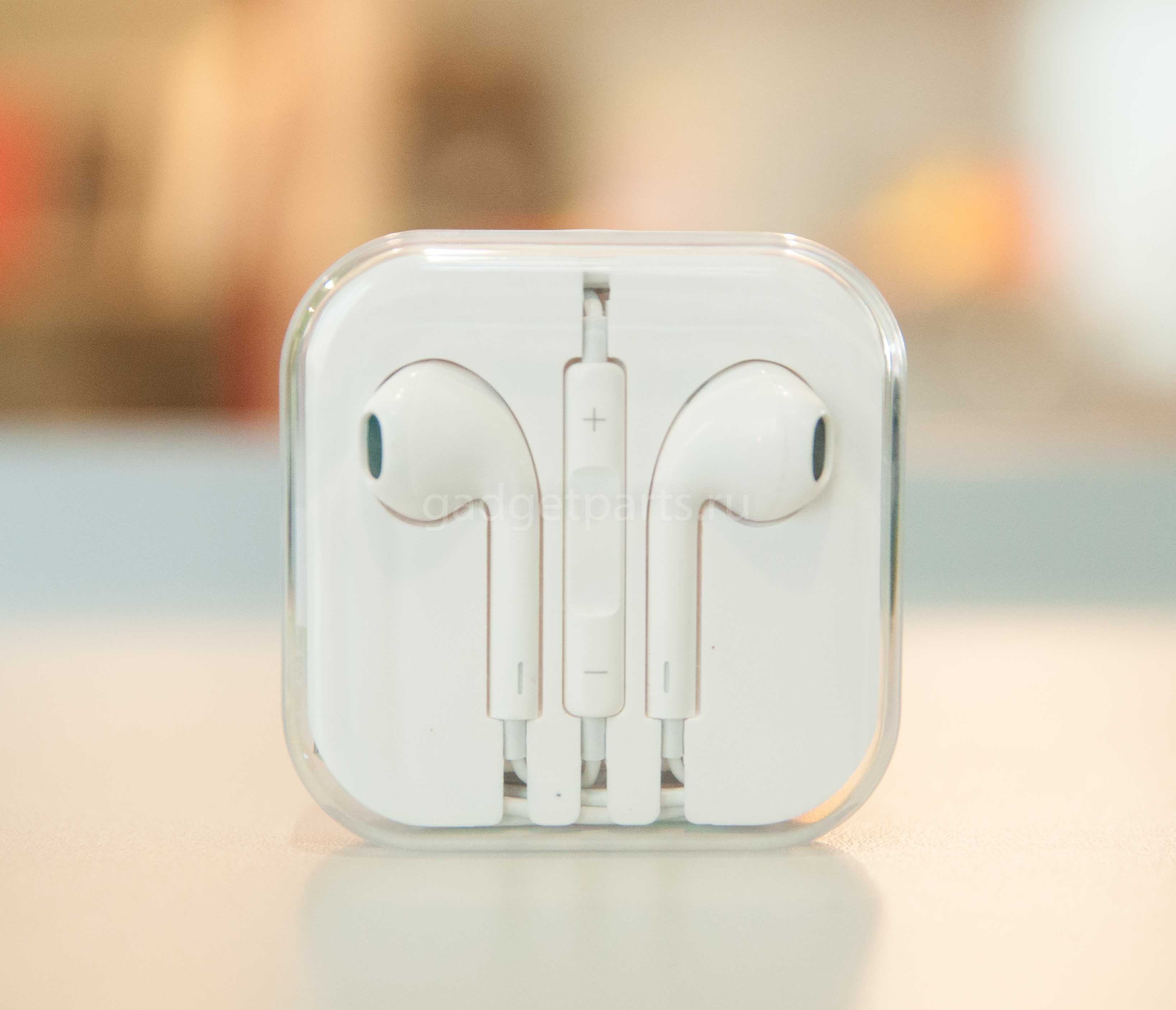 Наушники EarPods, iPhone, iPad