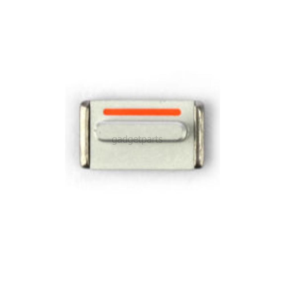 Кнопка вибро (Mute) iPhone 5S Серебряная (Silver)