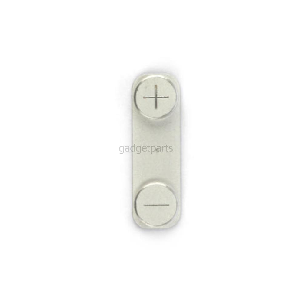 Кнопка громкости (Volume) iPhone 5S Серебряная (Silver)