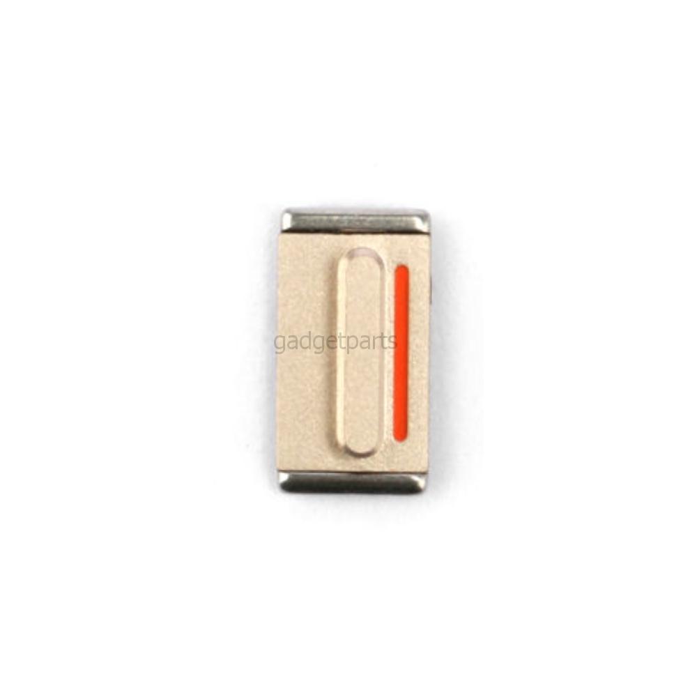 Кнопка вибро (Mute) iPhone 5S Золотая (Gold)