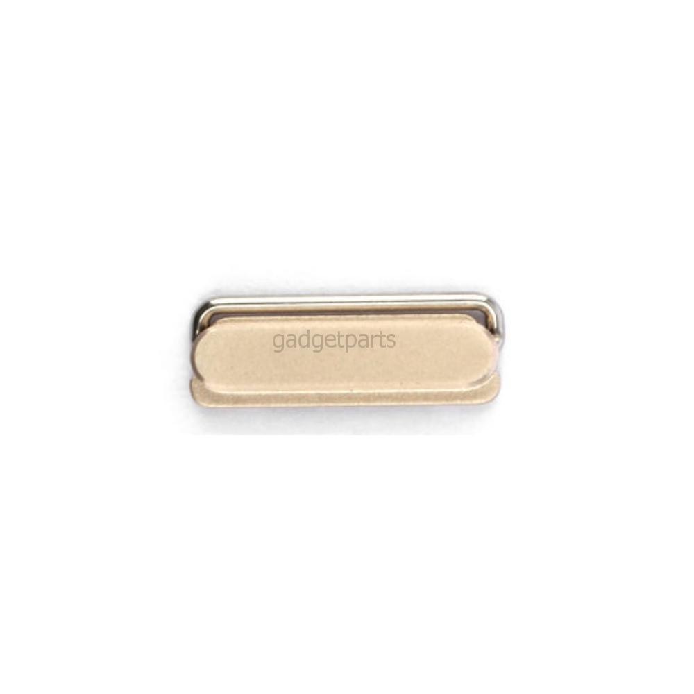 Кнопка включения (Power) iPhone 5S Золотая (Gold)