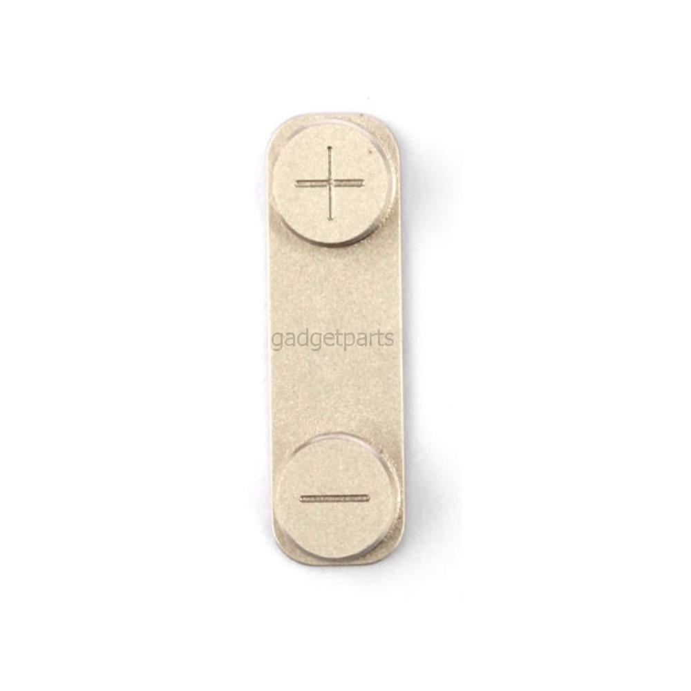 Кнопка громкости (Volume) iPhone 5S Золотая (Gold)