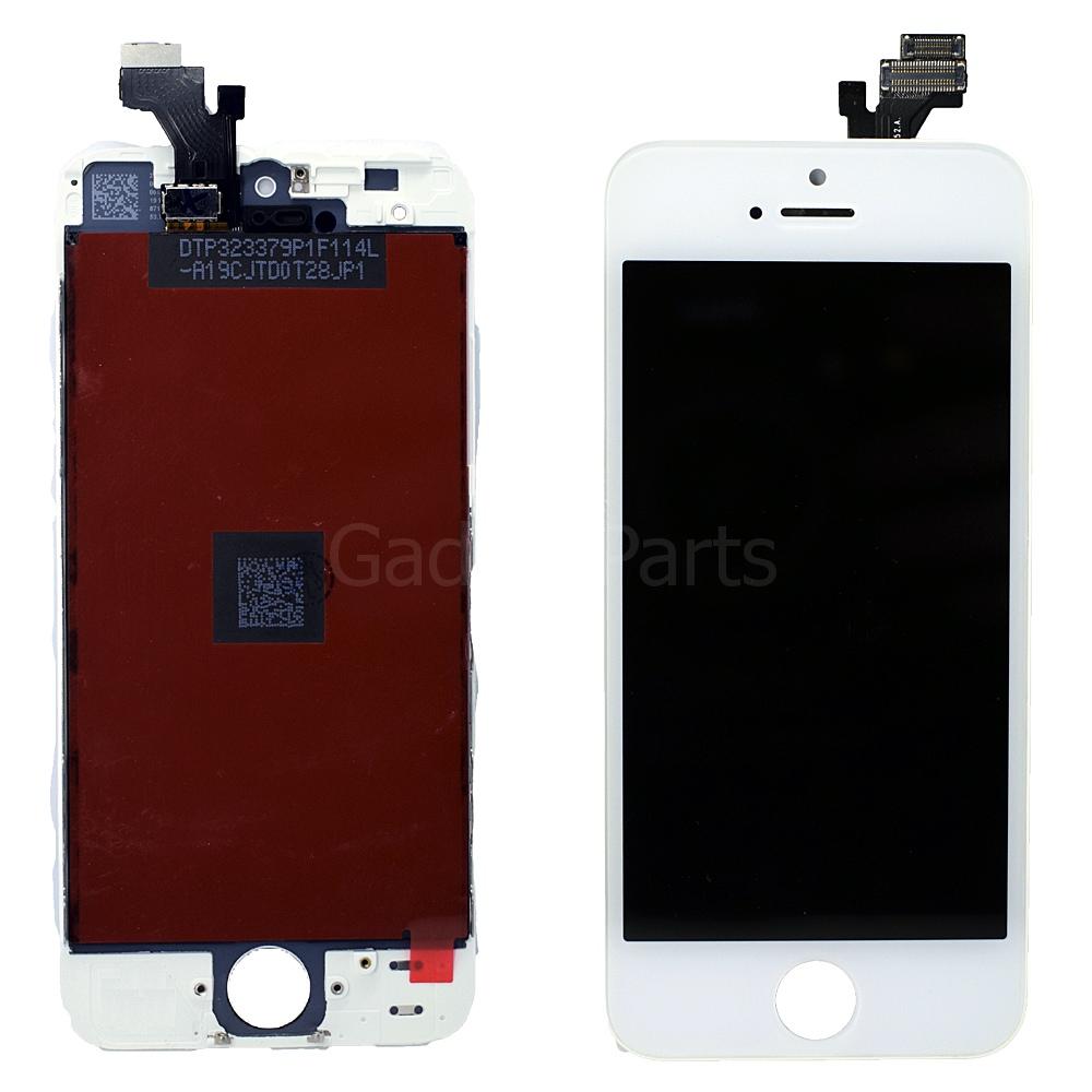 Модуль (дисплей, тачскрин, рамка) iPhone 5G Белый (White) Оригинальная матрица