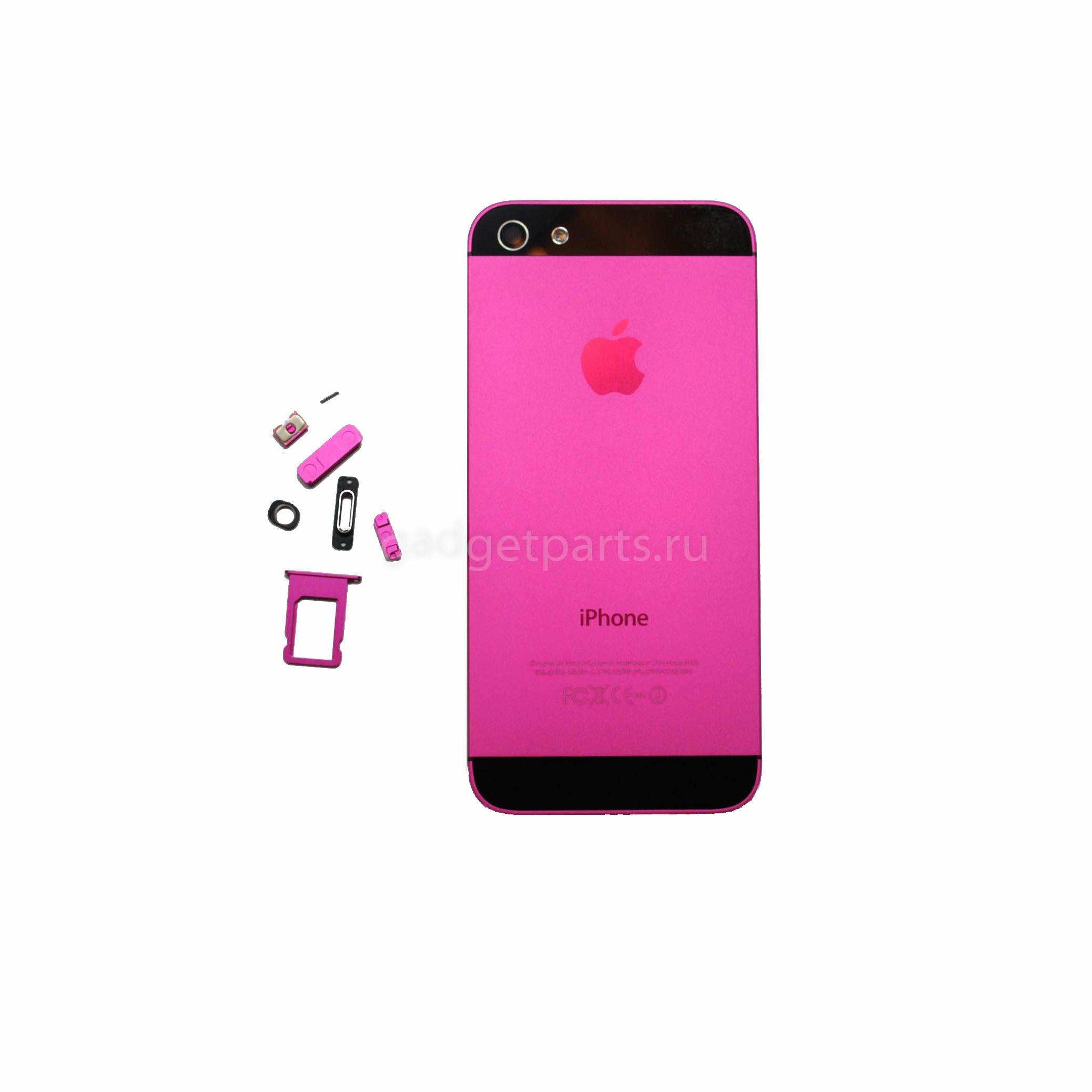 Задняя крышка iPhone 5 Сливовая (Plum)
