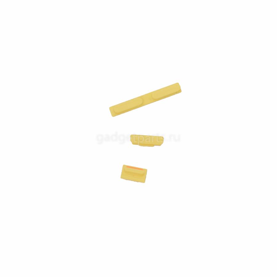 Набор кнопок iPhone 5C Желтый (Yellow)