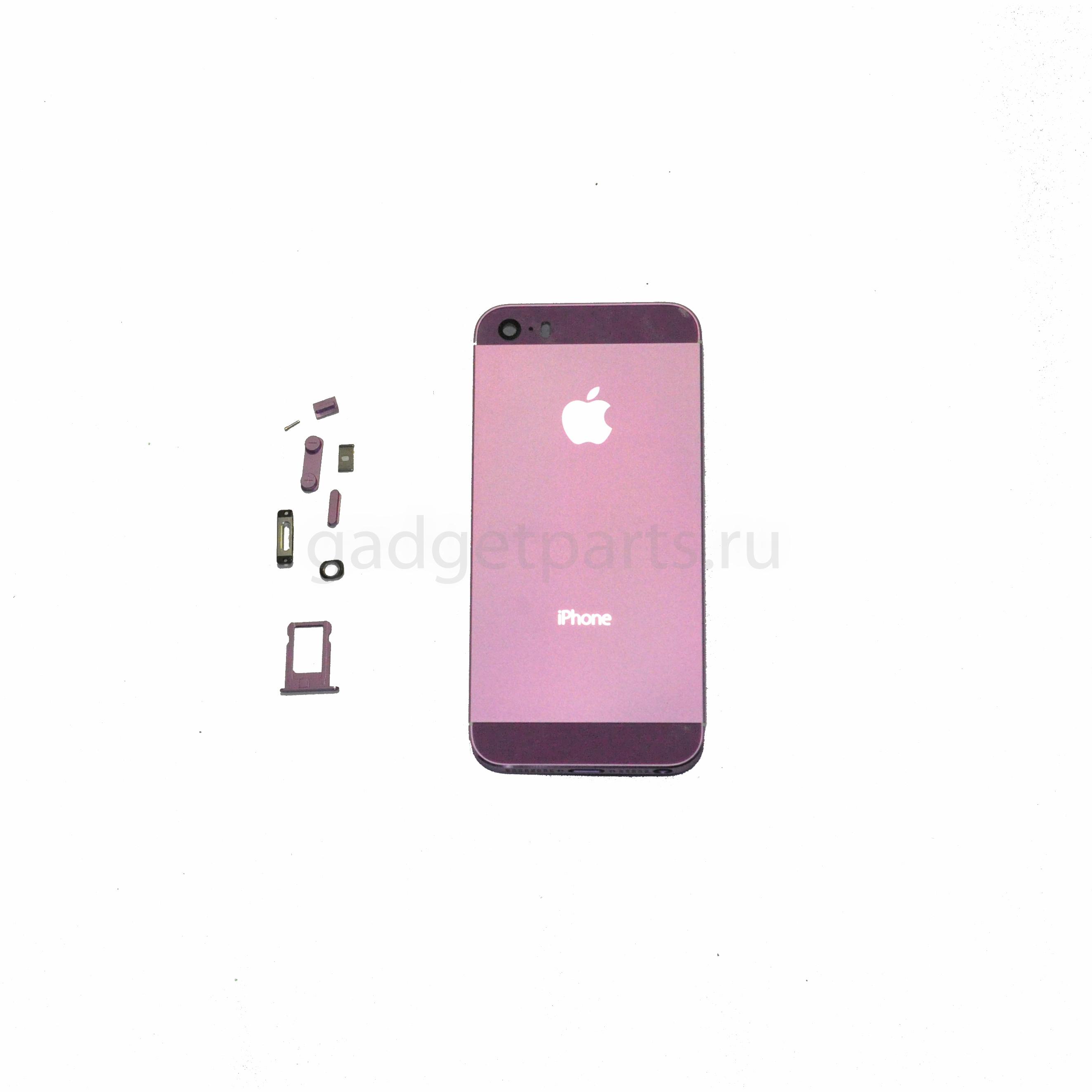 Задняя крышка iPhone 5S Фиолетовая (Purple)