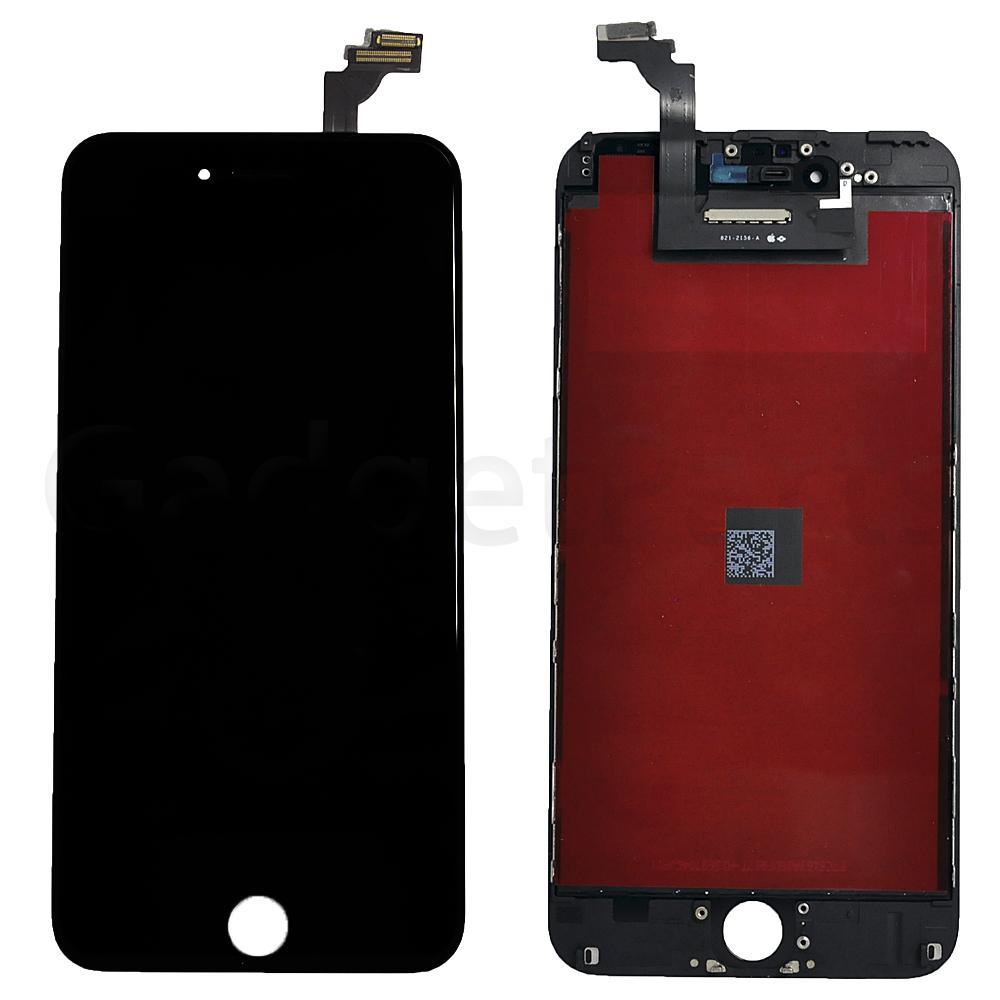Модуль (дисплей, тачскрин, рамка) iPhone 6 Plus Черный (Black) Оригинальная матрица