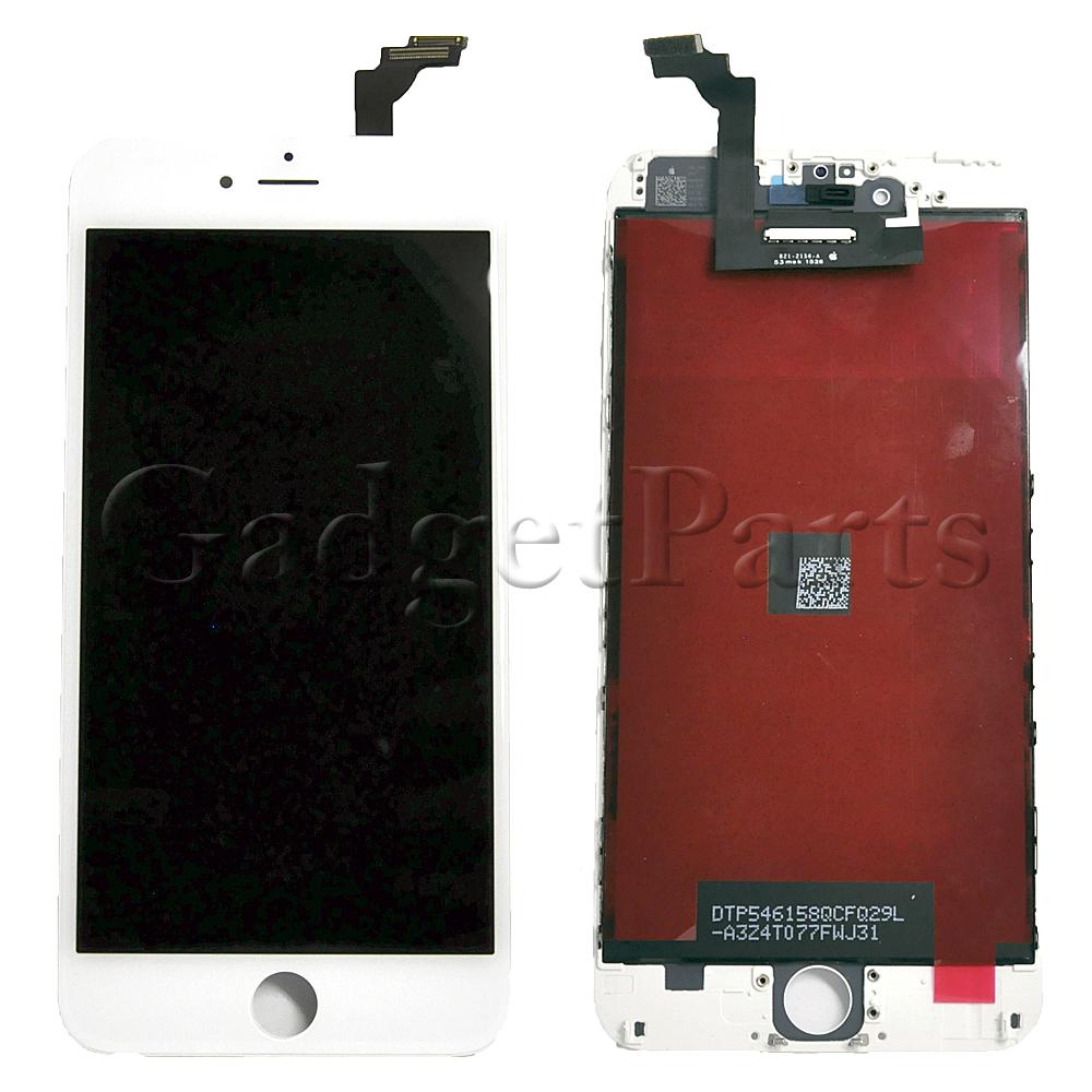 Модуль (дисплей, тачскрин, рамка) iPhone 6 Plus Белый (White) Оригинальная матрица