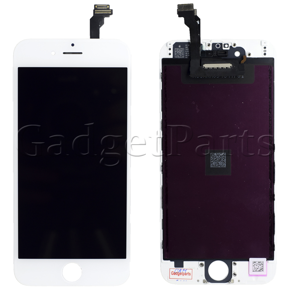Модуль (дисплей, тачскрин, рамка) iPhone 6 Белый (White) HQ