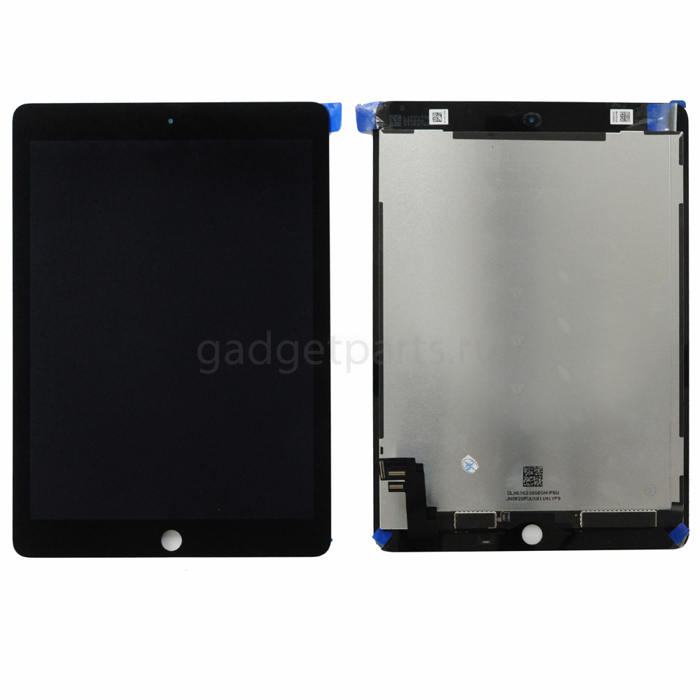 Дисплей в сборе с тачскрином iPad Air 2 Черный (Black) Оригинал