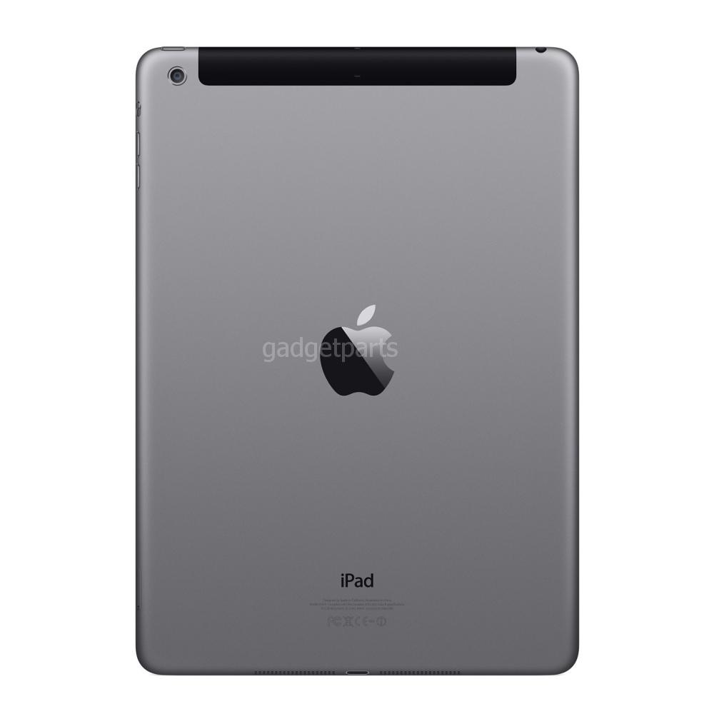 Задняя крышка iPad Air 2 Черная (Space gray, Black)