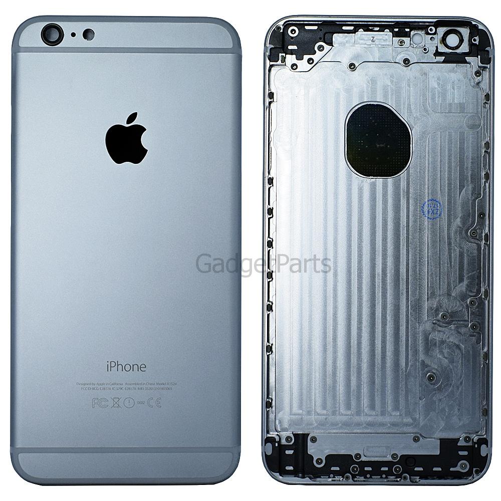 Задняя крышка iPhone 6 Plus Черная (Space Gray, Black)