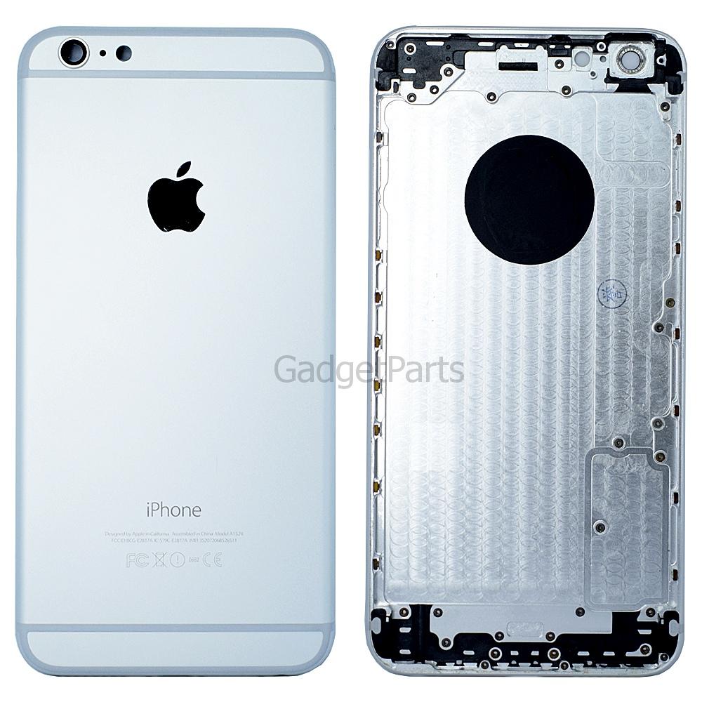 Задняя крышка iPhone 6 Plus Серебряная (Silver)