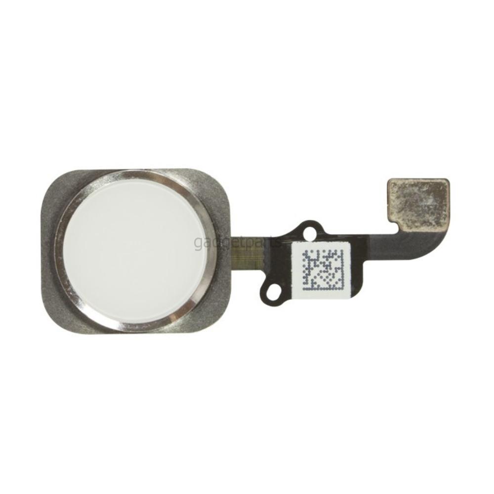 Кнопка Hоme в сборе с шлейфом iPhone 6 Plus Белая (White) Оригинал