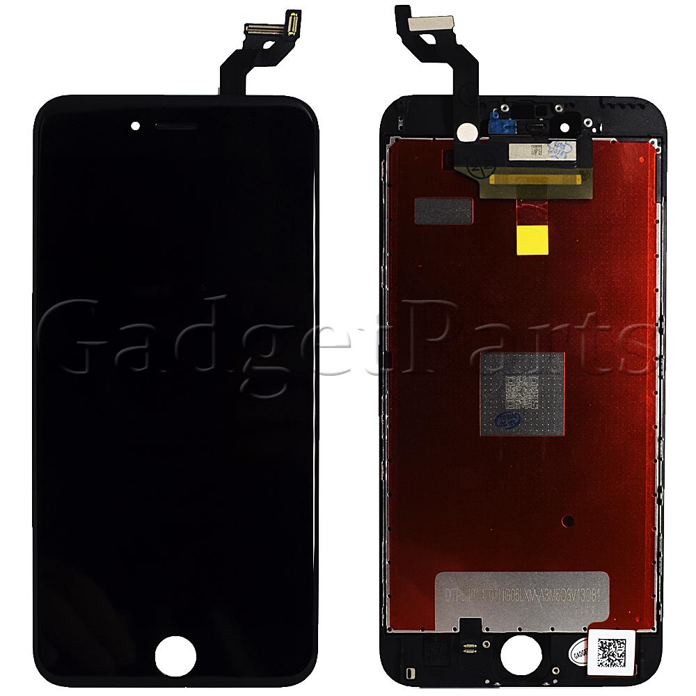 Модуль (дисплей+тачскрин+рамка) iPhone 6S Plus Черный (Black) Оригинальная матрица