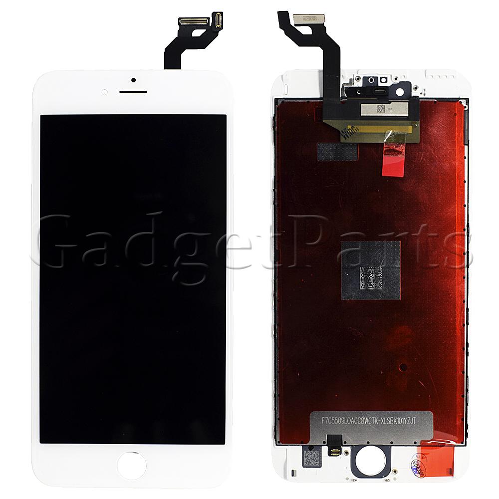 Модуль (дисплей, тачскрин, рамка) iPhone 6S Plus Белый (White) Оригинальная матрица