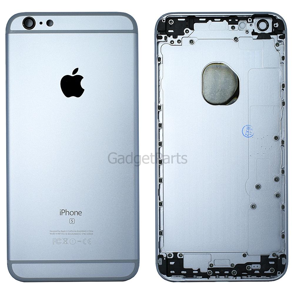 Задняя крышка iPhone 6S Plus Черная (Space Gray, Black) Оригинал
