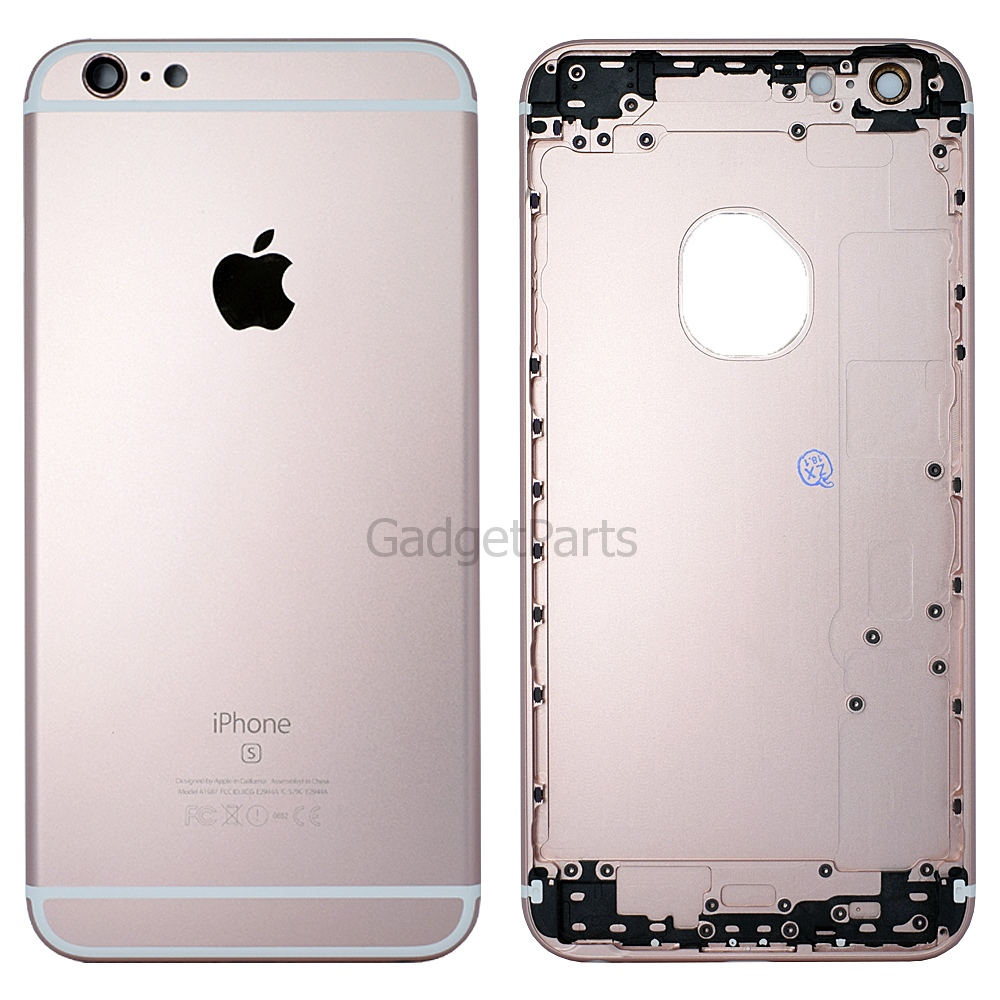 Задняя крышка iPhone 6S Plus Розовое золото (Rose gold) Оригинал