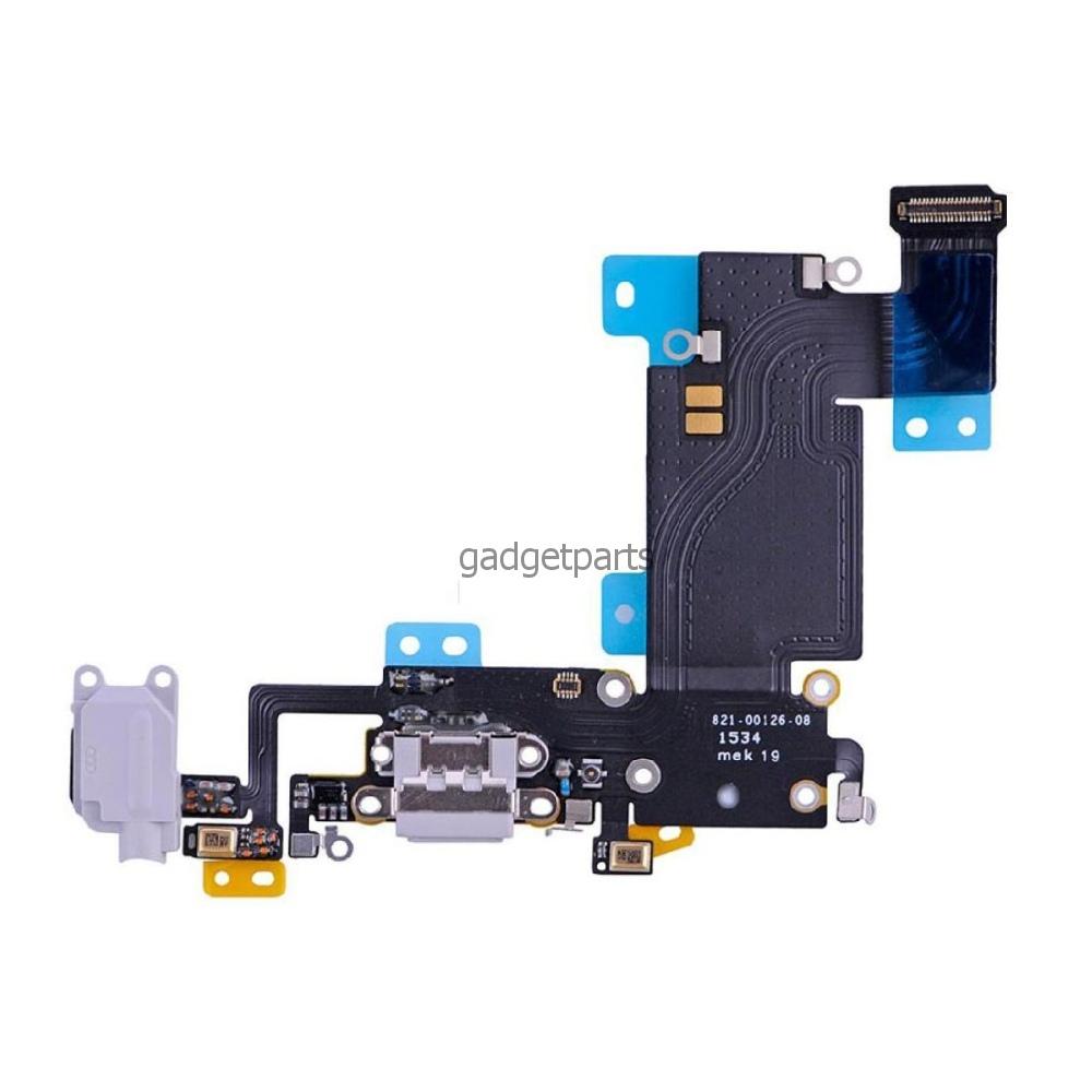 Аудио шлейф с системным разъемом iPhone 6S Plus Белый (White)