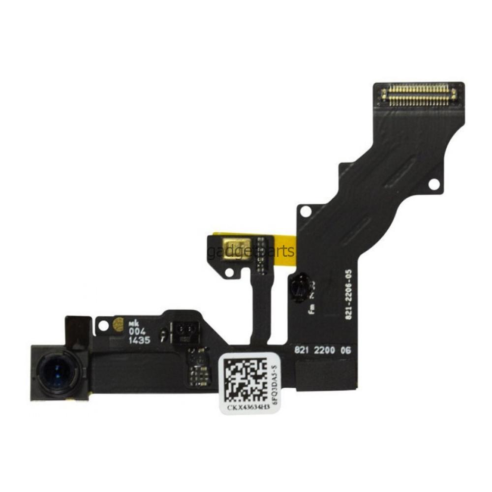 Передняя камера в сборе с шлейфом сенсора и микрофоном iPhone 6S Plus