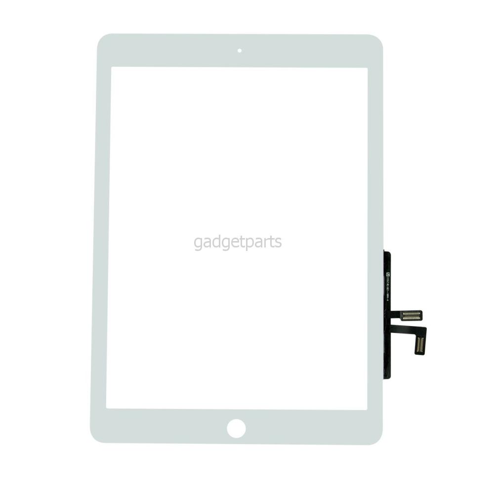 Сенсорное стекло, тачскрин iPad Air Белый (White) Оригинал