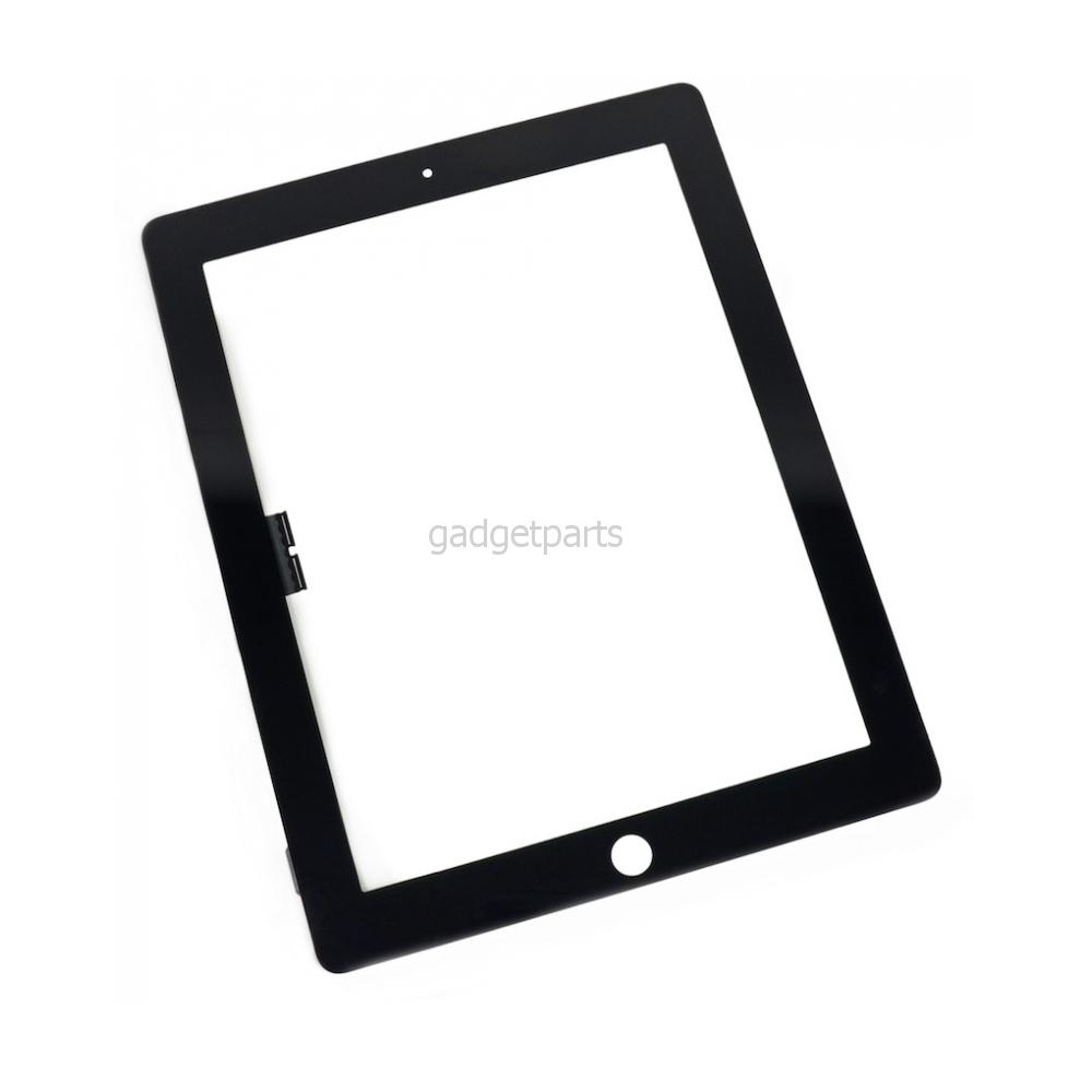 Сенсорное стекло, тачскрин iPad 3, 4 Черный (Black) Оригинал