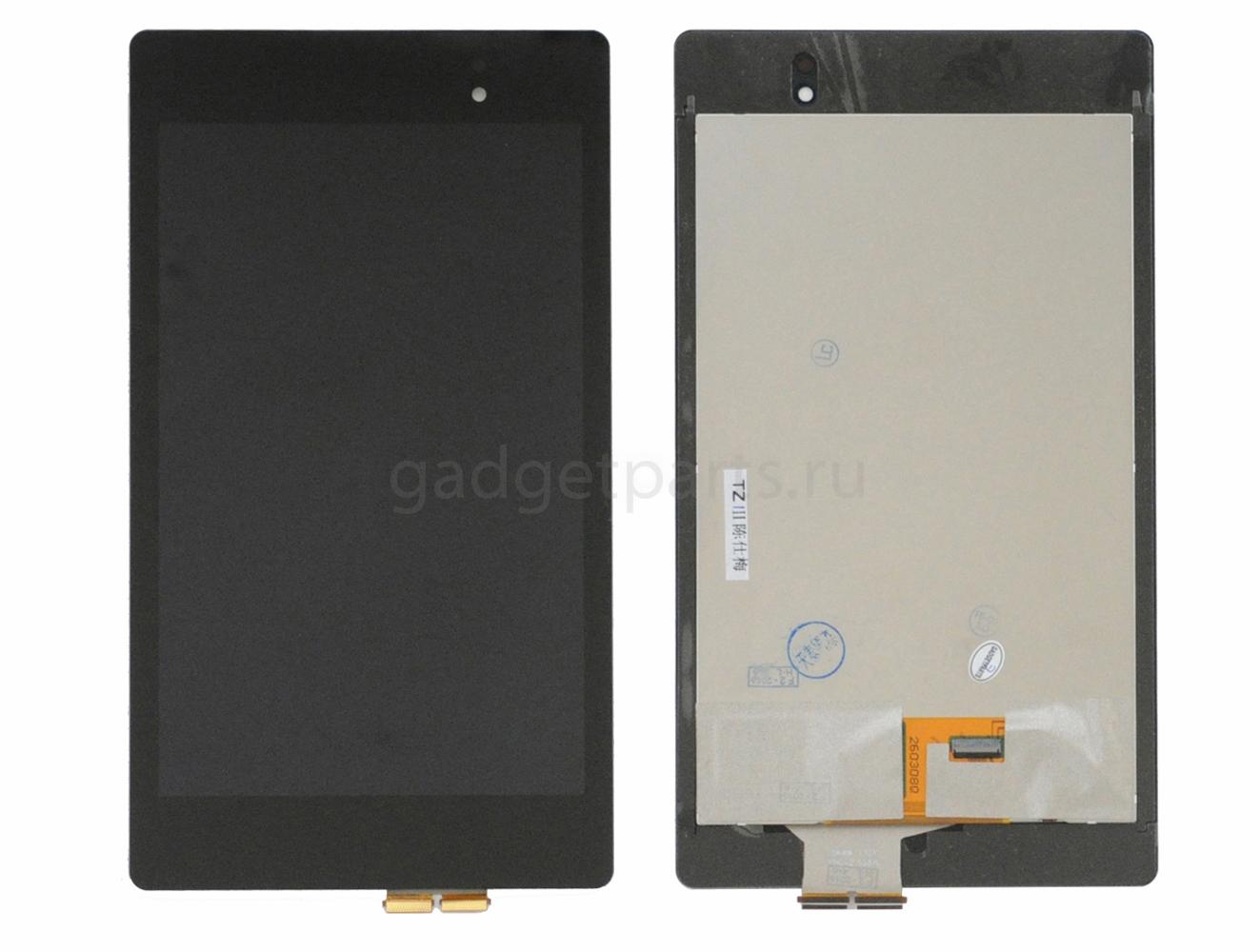 Модуль (дисплей, тачскрин) Asus Nexus 7 LTE (ME571K), 2013 Черный (Black) Оригинал