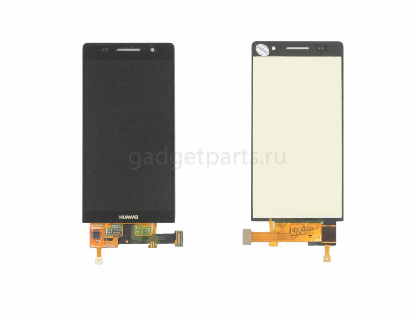 Модуль (дисплей, тачскрин) Huawei Ascend P6 Черный (Black)