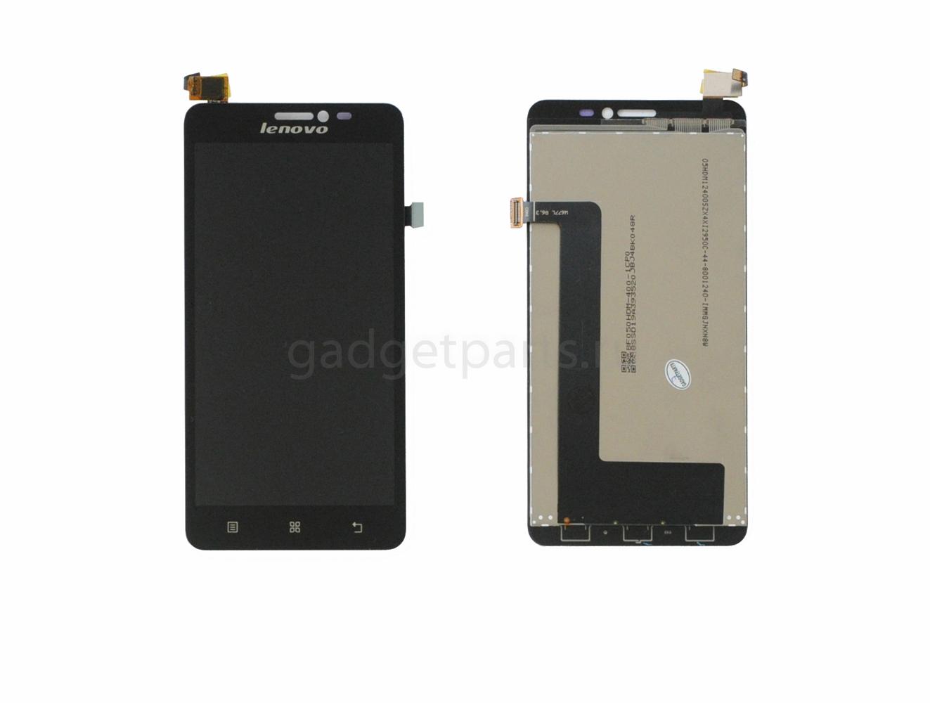 Модуль (дисплей, тачскрин) Lenovo S850 Черный (Black)