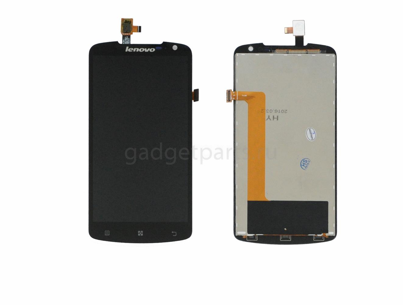 Модуль (дисплей, тачскрин) Lenovo S920 Черный (Black)