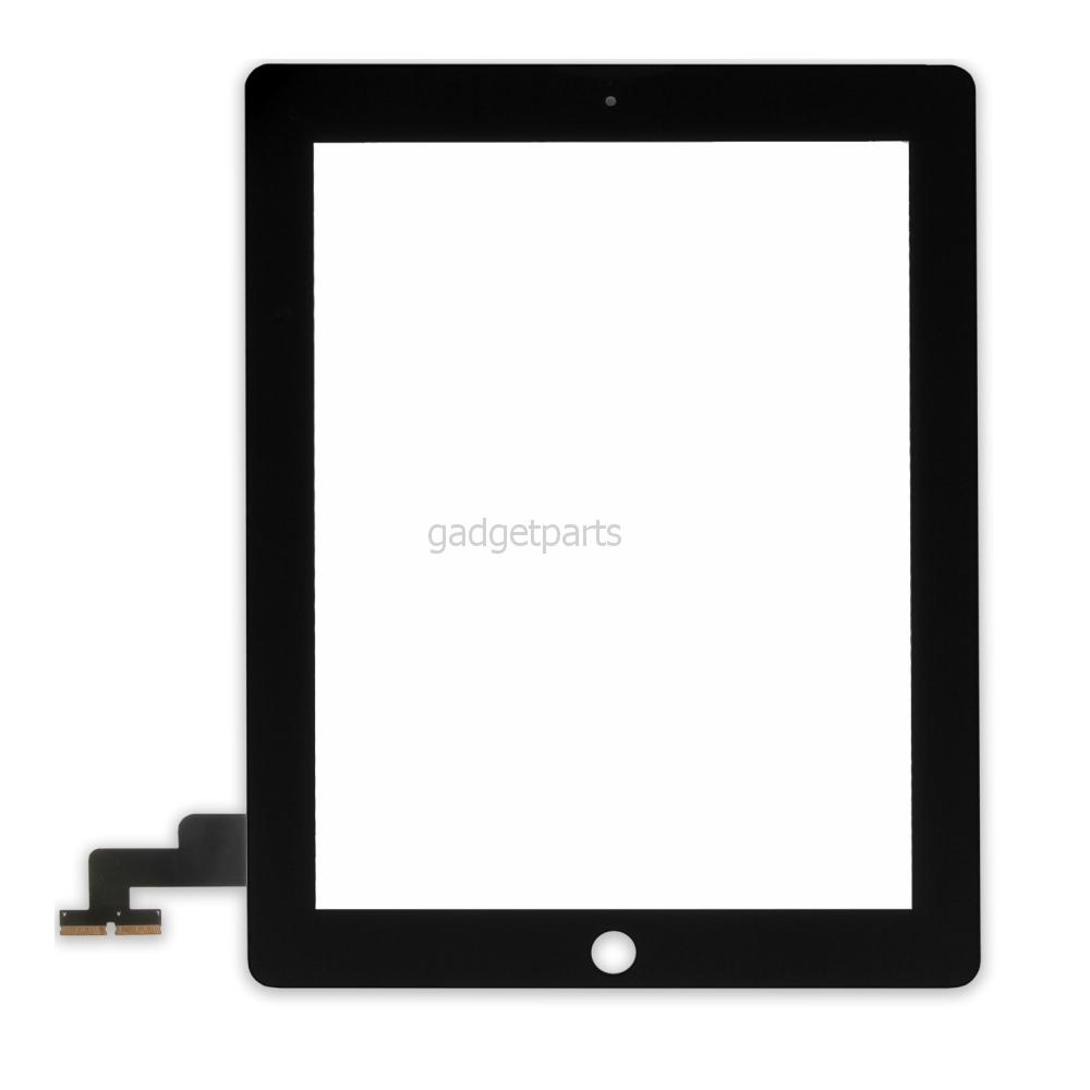 Сенсорное стекло, тачскрин iPad 2 Черный (Black) Оригинал