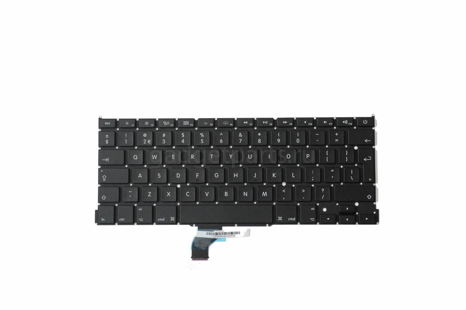 Клавиатура MacBook Pro Retina 13 A1502 2013 год