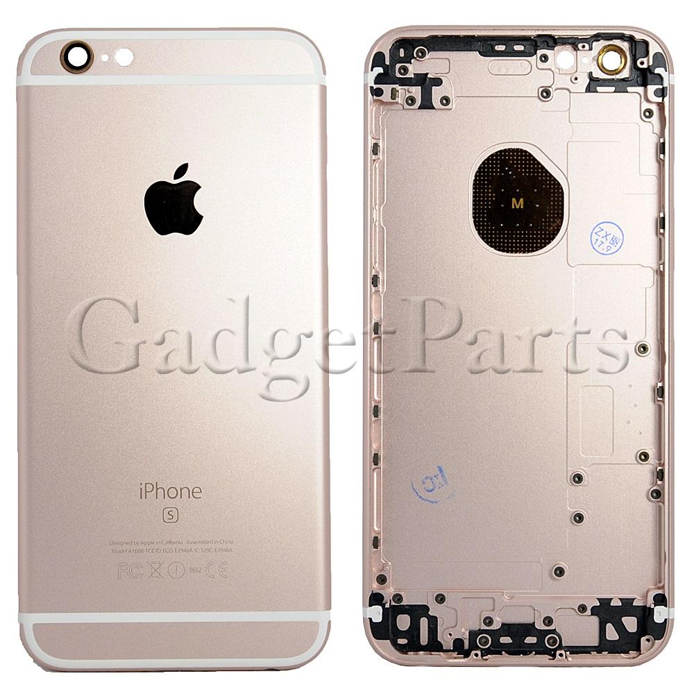 Задняя крышка iPhone 6S Розовое золото (Rose gold)