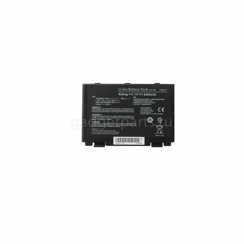 Аккумуляторная батарея для ноутбука Asus K40, F82 11.1v (A32-F82) 5200mAh